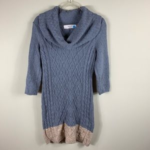 Anthropologie: sparrow textured sweater dress